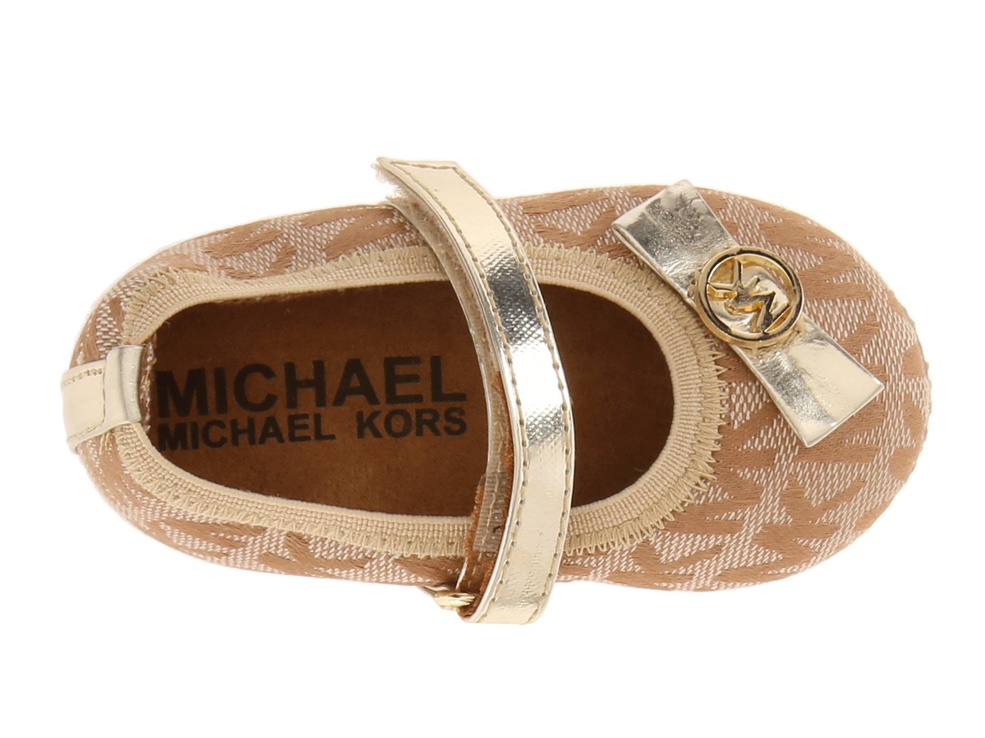 Michael Michael Kors Kids Baby Grace Dana Infant Toddler Camel