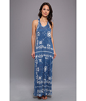 Alternative Apparel - La Brea Printed Maxi Dress