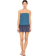 Marc by Marc Jacobs - Tara Stripe Pull On Bandeau Dress Cover-Up