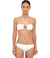Michael Kors - Must Have Solids Bandeau Bikini Top and Classic Bottom Set