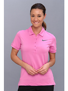 Nike Golf Sport Swing Polo Red Violet