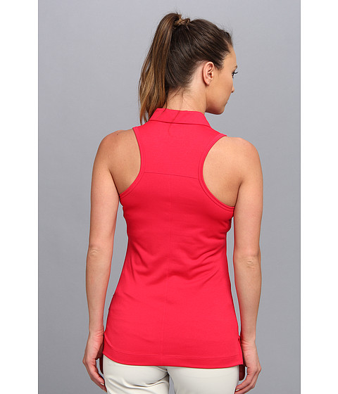Nike golf sport core sleeveless racerback polo for Sleeveless womens golf shirts