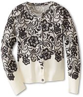 Dolce & Gabbana - Lace Print Cardigan (Toddler/Little Kids)