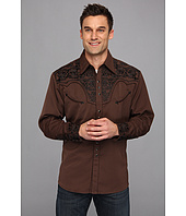 Scully - Floral Tooled Shirt