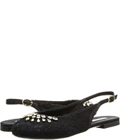 Dolce & Gabbana Kids - Lace Satin Slingback (Little Kid/Big Kid)