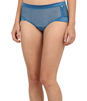 Emporio Armani  Tempting Gift Mesh Lace And Satin Boyshort  image