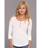 Alternative - Rolled Sleeve Side Slit Henley