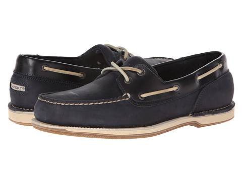 Rockport Ports of Call Perth - Navy Leather/Nubuck