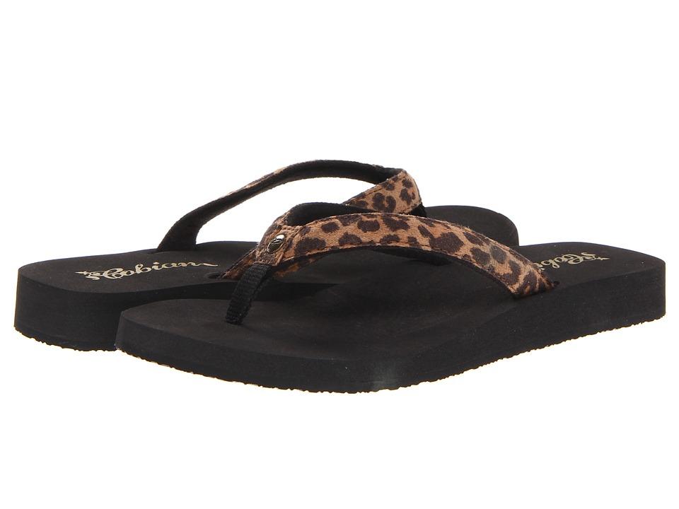 Cobian Fiesta Bounce Leopard Womens Sandals