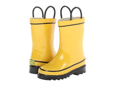 Western Chief Kids Firechief 2 Rainboot (Toddler/Little Kid/Big Kid) - Yellow