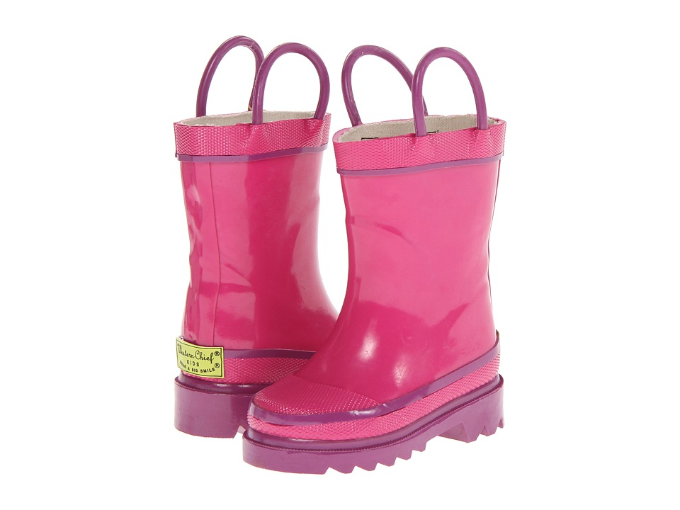 Western Chief Kids Firechief 2 Rain Boot (Toddler/Little Kid/Big Kid) (Pink) Girls Shoes