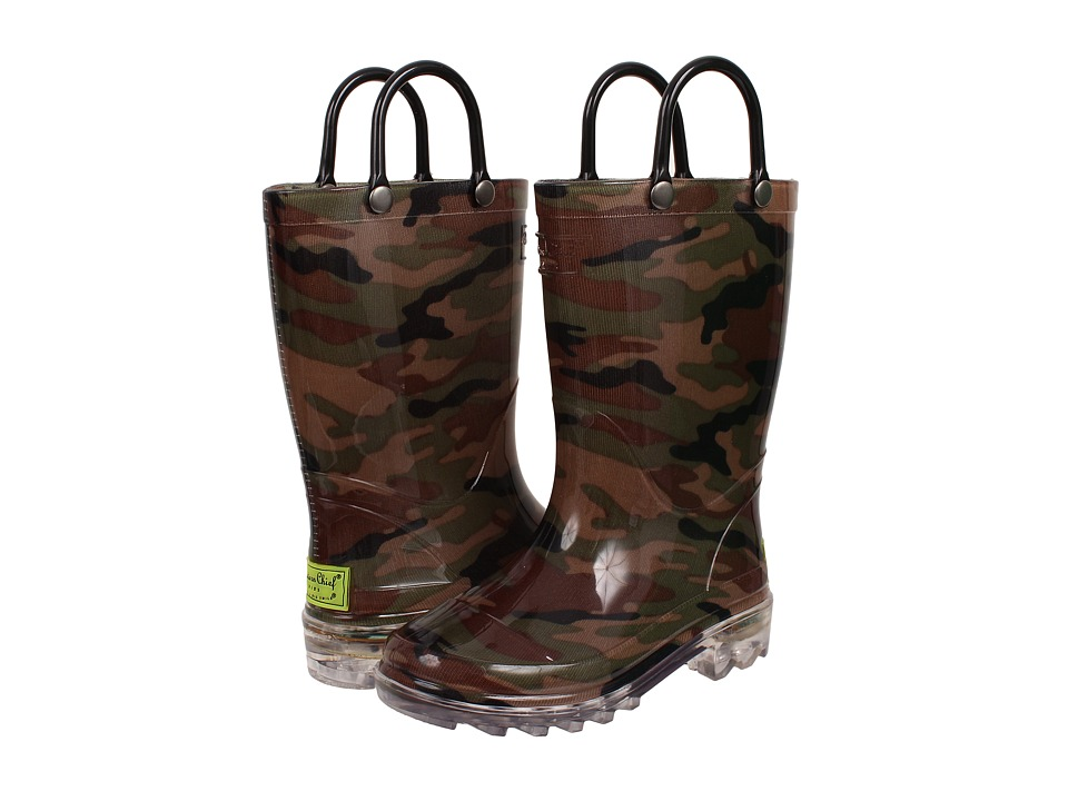 Western Chief Kids - Lighted PVC Camo