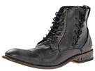 John Varvatos - Freeman Side Lace (Mineral Black) - Footwear
