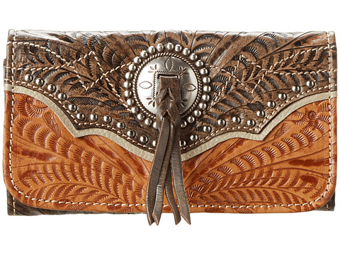American West Heart Of Gold Tri-Fold Wallet