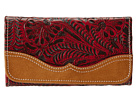 American West Birds Of A Feather Wallet (Crimson)