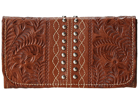 American West Twisted Trail Wallet
