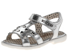 Moschino 25425 (Toddler/Little Kid) (Silver)