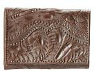 American West Tri-Fold Wallet (Chocolate)