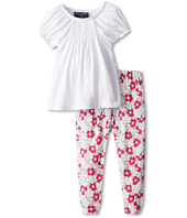 Oscar de la Renta Childrenswear - Baby Lisbon Leggings with Jersey Top Set (Infant)