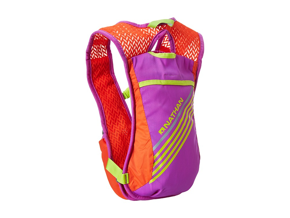 Nathan - Firecatcher (Purple Cactus Flower/Tangerine Tango) Running Sports Equipment