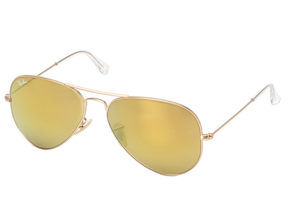 Ray Ban RB3025 Aviator 58mm Gold Fashion Sunglasses