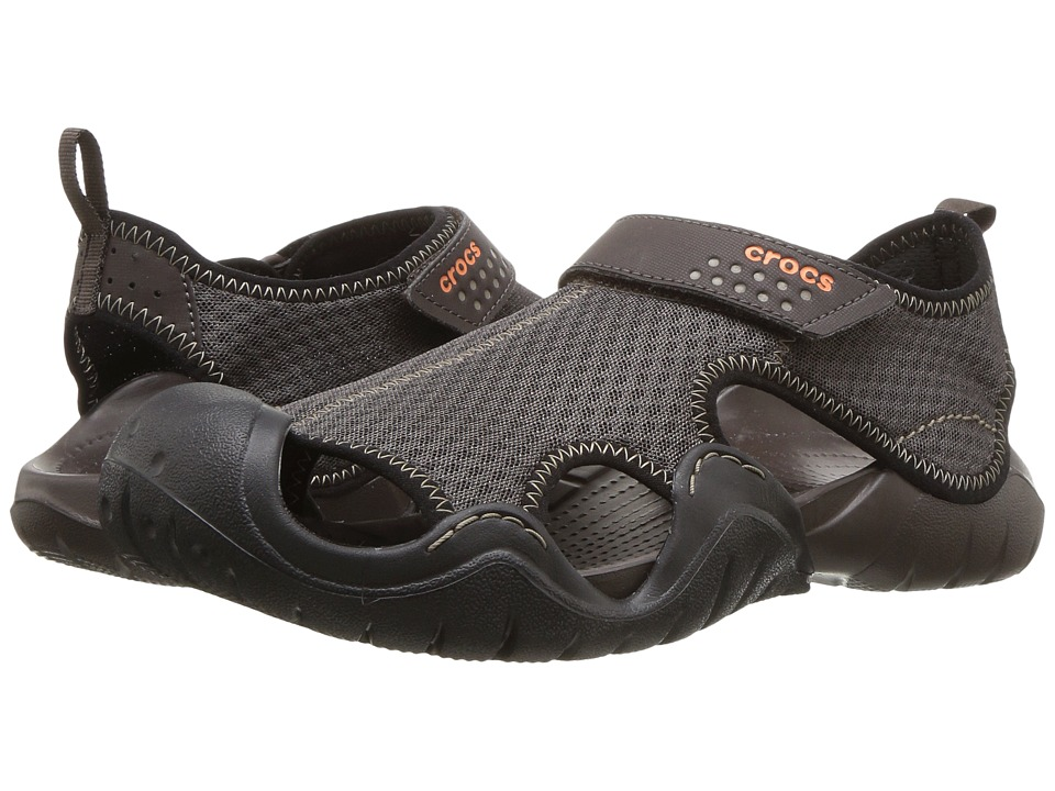 Crocs - Swiftwater Sandal (Espresso/Espresso) Men
