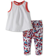 7 For All Mankind Kids - Girls' Skinny w/ Colorblocked Top (Infant)