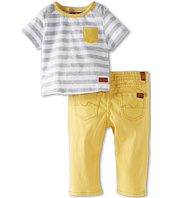 7 For All Mankind Kids - Boys' Standard w/ Striped Tee (Infant)
