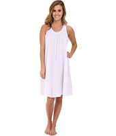 Carole Hochman - Lilies of the Valley Short Sleeveless Nightgown