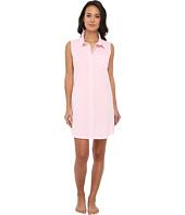 LAUREN by Ralph Lauren - Pink Sands Bingham Knits Sleeveless Sleepshirt
