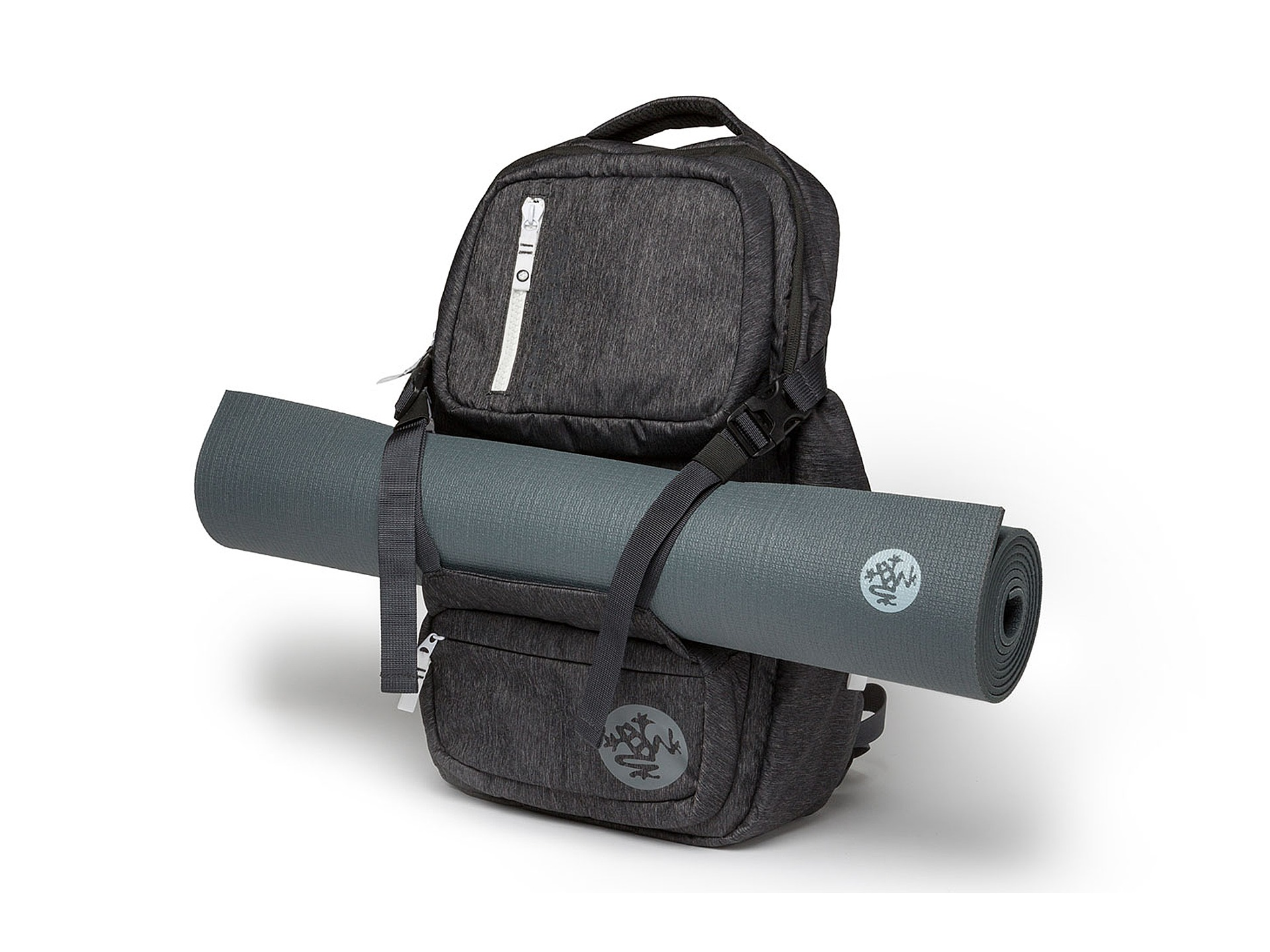 Manduka Go Free Yoga Mat Carrier Backpack Black Zappos