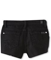 7 For All Mankind Kids - Girls' Short in Black Out (Toddler)