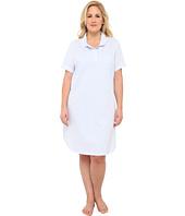 LAUREN by Ralph Lauren - Plus Size Windsor Knits S/S Sleepshirt