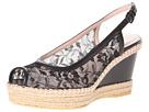 Stuart Weitzman - Tuileries (Black Guipure Lace) - Footwear
