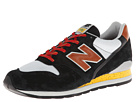 New Balance Classics M996 Made in USA National Parks Black, Silver Shoes