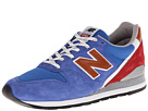 New Balance Classics M996 Made in USA National Parks Blue, Red Shoes
