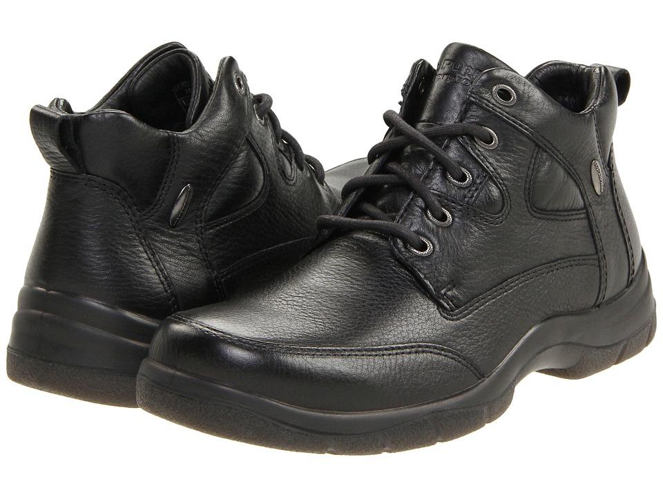Hush Puppies Endurance (Black Leather) Men
