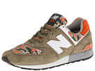 New Balance Classics ML576 Camo Pack Olive Green Shoes