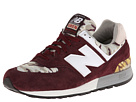 New Balance Classics ML576 Camo Pack Burgundy Shoes