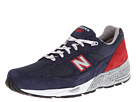 New Balance Classics M991 Made in USA Navy, Red Shoes