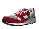 New Balance Classics ML999 Red, Grey Shoes