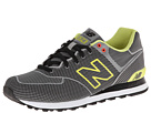 New Balance Classics ML574 Woven Pack Grey, Yellow Shoes