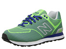 New Balance Classics ML574 Woven Pack Green Shoes