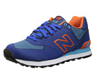 New Balance Classics ML574 Woven Pack Blue, Orange Shoes