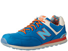 New Balance Classics ML574 Island Pack Blue Shoes