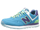 New Balance Classics WL574 Island Pack Blue Shoes