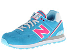 New Balance Classics WL574 Stadium Jacket Blue Shoes