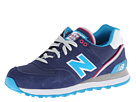 New Balance Classics WL574 Stadium Jacket Navy Shoes