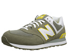 New Balance Classics M574 Covert Green Shoes