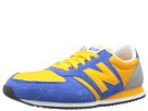 New Balance Classics U420 Blue, Yellow Shoes